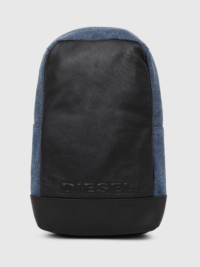 Diesel - F-SUSE MONO, Blau/Schwarz - Rucksäcke - Image 1
