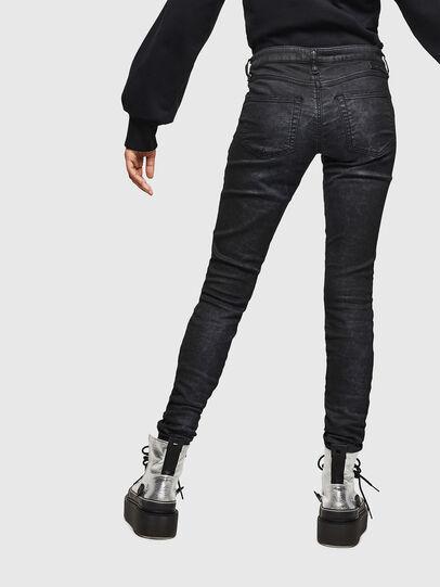 Diesel - Gracey JoggJeans 069GP, Schwarz/Dunkelgrau - Jeans - Image 2
