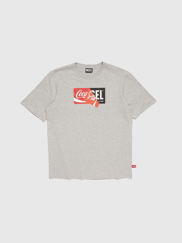 CC-T-JUST-COLA, Grau - T-Shirts