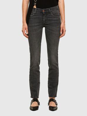 Sandy 009FI, Schwarz/Dunkelgrau - Jeans