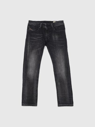 Diesel - SLEENKER-J JOGGJEANS-N, Schwarz/Dunkelgrau - Jeans - Image 1
