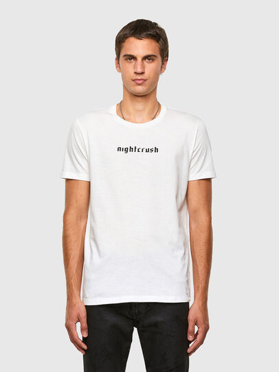 Diesel - T-INY, Weiß - T-Shirts - Image 1