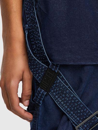 Diesel - D-Fedry JoggJeans® 0CBBZ, Dunkelblau - Jeans - Image 4