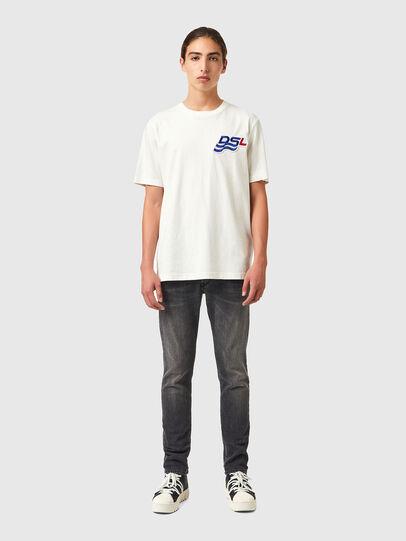 Diesel - T-JUST-B83, Weiß - T-Shirts - Image 4