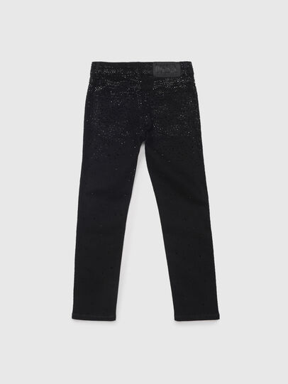 Diesel - BABHILA-J, Schwarz/Dunkelgrau - Jeans - Image 2