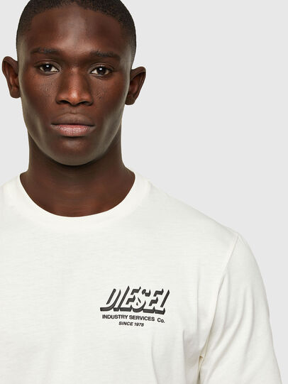 Diesel - T-JUST-A33, Weiß - T-Shirts - Image 3