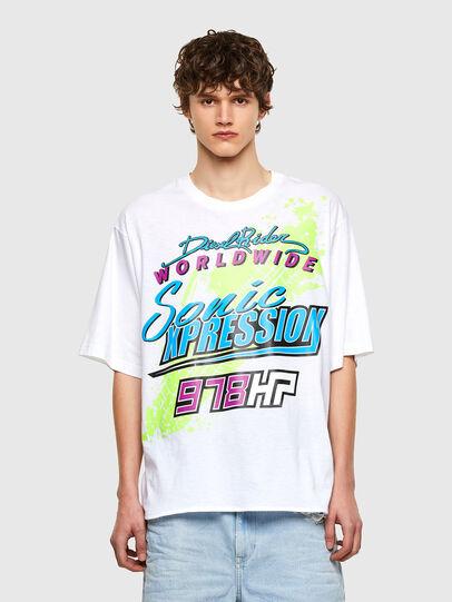 Diesel - T-DELPHONE, Weiß - T-Shirts - Image 1