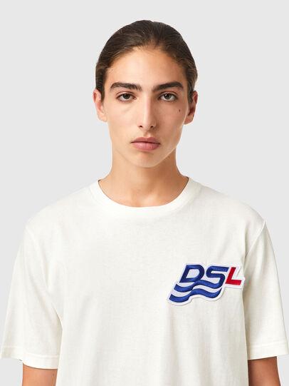 Diesel - T-JUST-B83, Weiß - T-Shirts - Image 3