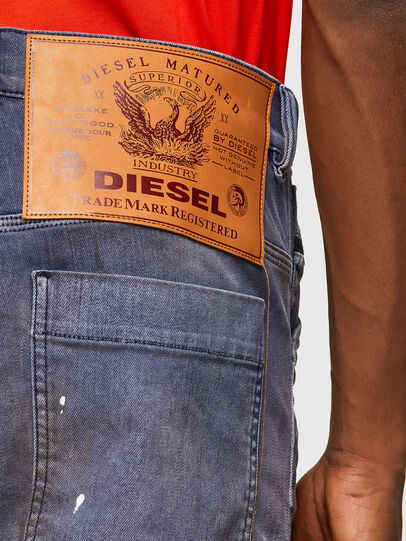 Diesel - D-Franky 009MC, Mittelblau - Jeans - Image 5