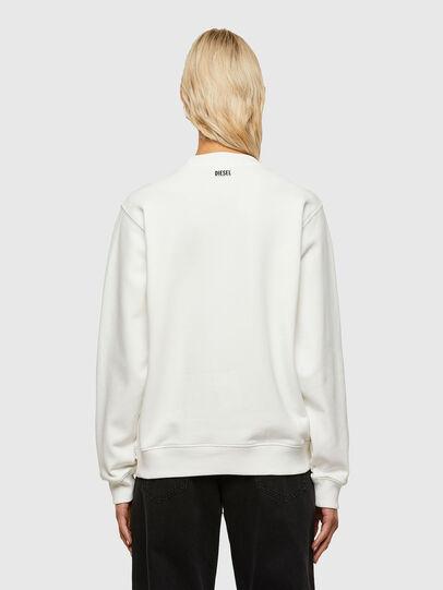 Diesel - F-ANG-R10, Weiß - Sweatshirts - Image 2