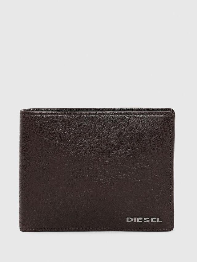 Diesel - HIRESH, Braun - Kleine Portemonnaies - Image 1