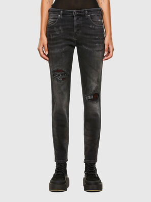 Babhila 009JN, Schwarz/Dunkelgrau - Jeans