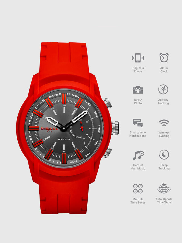 Diesel - DT1016, Rot - Smartwatches - Image 1