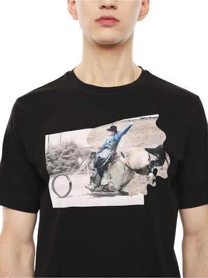 Diesel - TY-CHOPPER,  - T-Shirts - Image 3