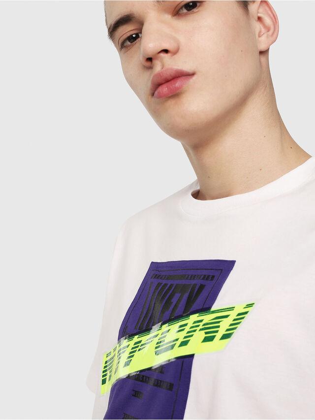 Diesel - T-JUST-Y7, Weiß - T-Shirts - Image 3