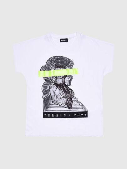 Diesel - TSOLARIX MC, Weiß - T-Shirts und Tops - Image 1
