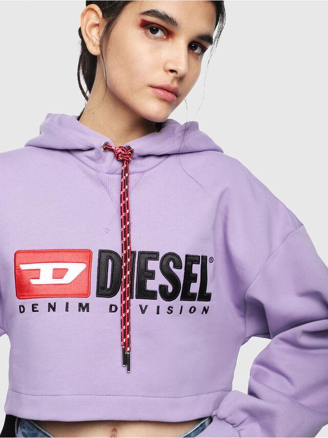 Diesel - F-DINIE-A, Lila - Sweatshirts - Image 3