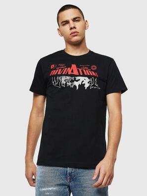 T-DIEGO-B12, Schwarz - T-Shirts