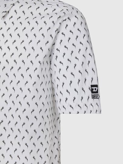 Diesel - S-RILEY-SHO-KA, Weiß - Hemden - Image 3