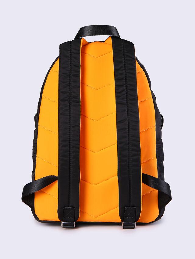 F-SUPERPASS BACK, Schwarz/Orange