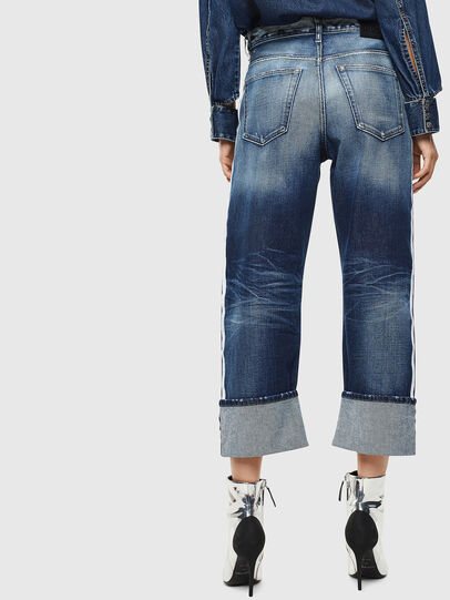 Diesel - D-Reggy 0096S, Mittelblau - Jeans - Image 2
