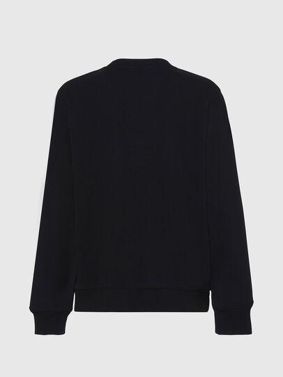 Diesel - F-ANG, Schwarz/Weiss - Sweatshirts - Image 2