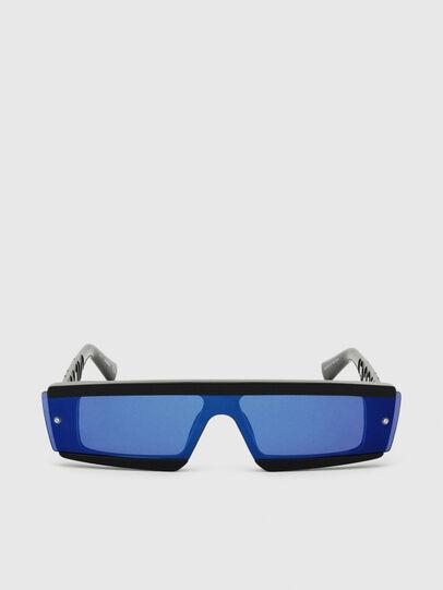 Diesel - DL0318, Schwarz/Blau - Sonnenbrille - Image 1
