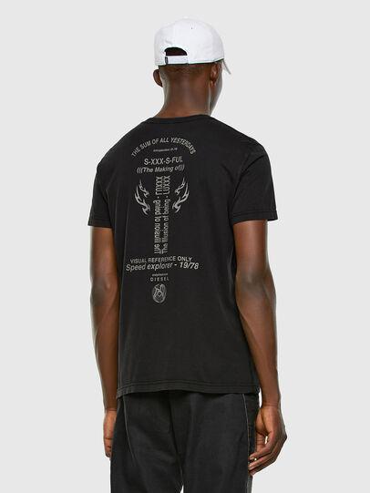Diesel - T-DIEBIND, Schwarz - T-Shirts - Image 6
