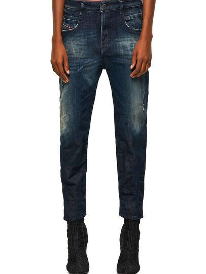 Diesel - Fayza JoggJeans® 09B50, Dunkelblau - Jeans - Image 1