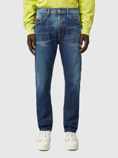 Diesel - D-Fining 09A96, Mittelblau - Jeans - Image 1