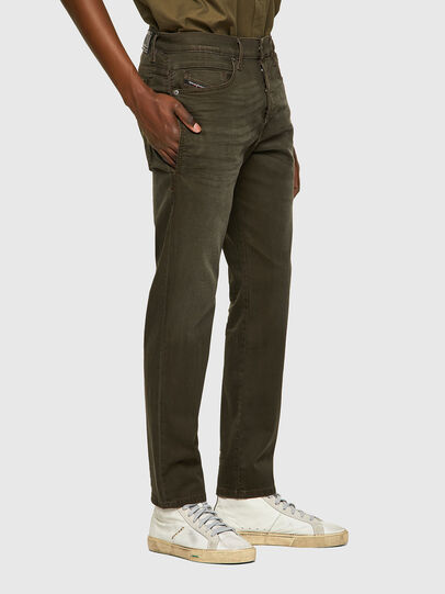 Diesel - D-Fining-Chino 0699P, Armeegrün - Jeans - Image 4