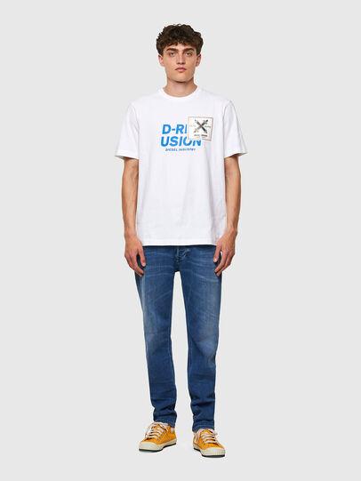 Diesel - T-JUST-B62, Weiß - T-Shirts - Image 5