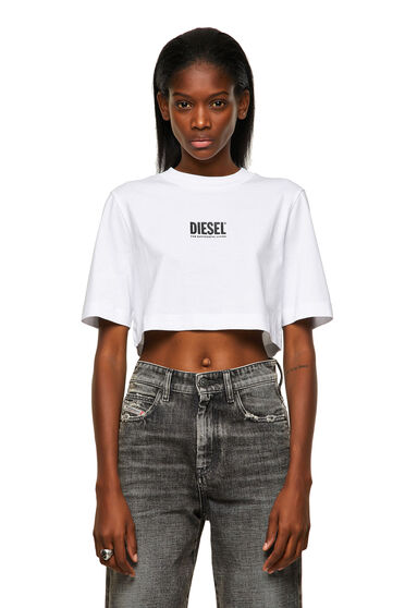 Green Label kurzes T-Shirt mit Logo
