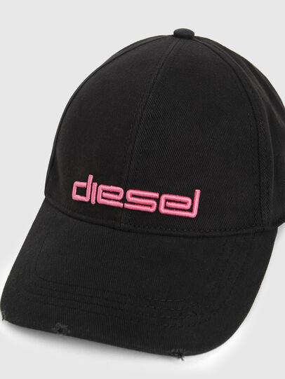 Diesel - DECHO, Schwarz/Rosa - Hüte - Image 3