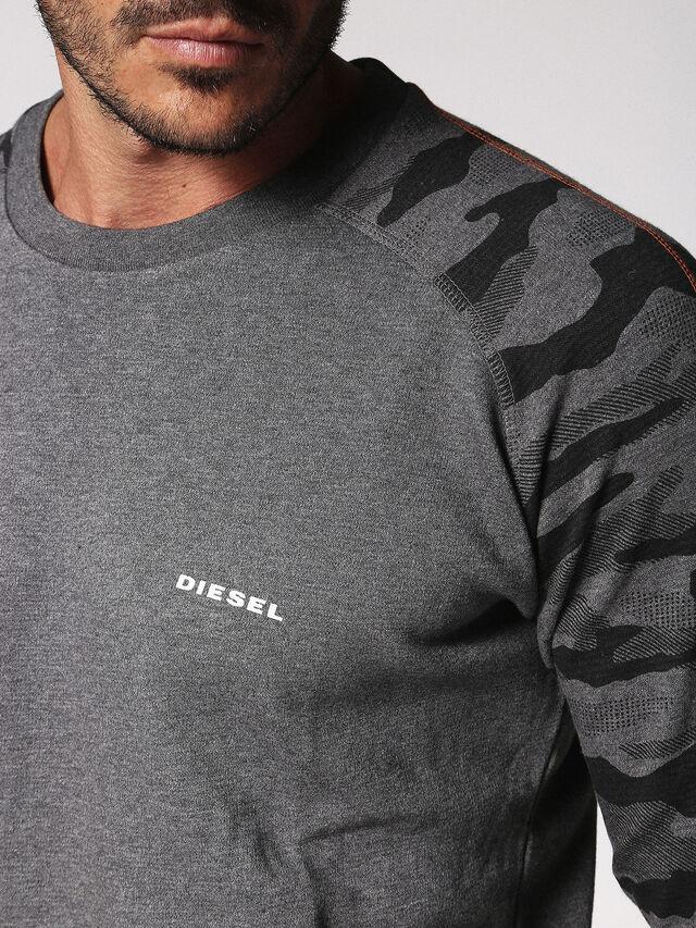 Diesel - UMLT-CASEY, Grau - Sweatshirts - Image 3
