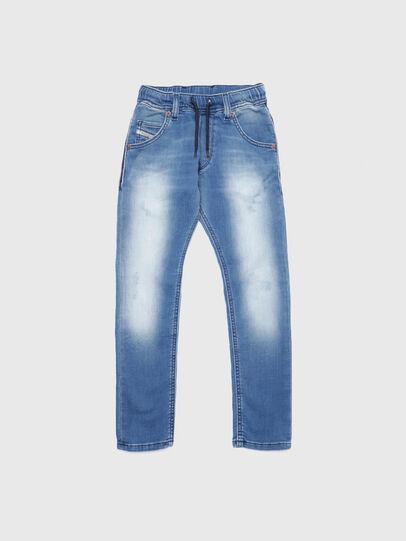 Diesel - KROOLEY-J JOGGJEANS, Hellblau - Jeans - Image 1