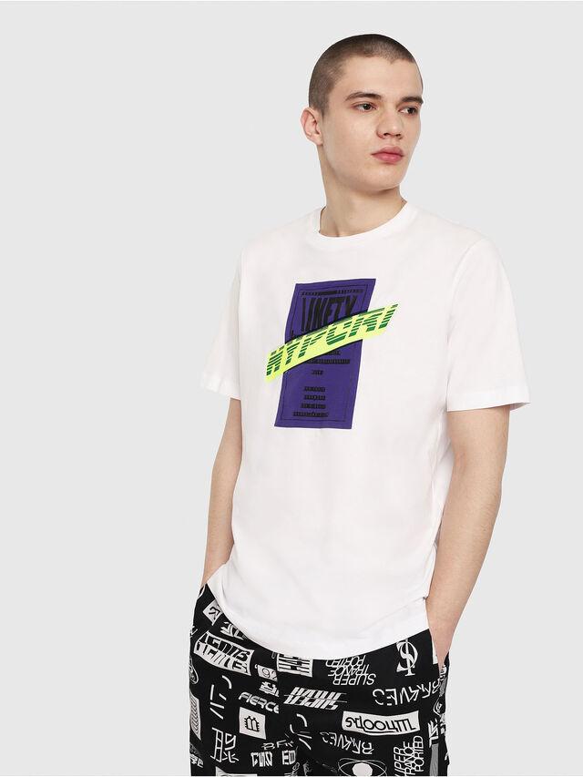 Diesel - T-JUST-Y7, Weiß - T-Shirts - Image 1