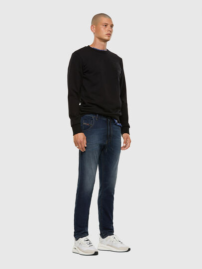 Diesel - Krooley JoggJeans 069NE, Dunkelblau - Jeans - Image 5