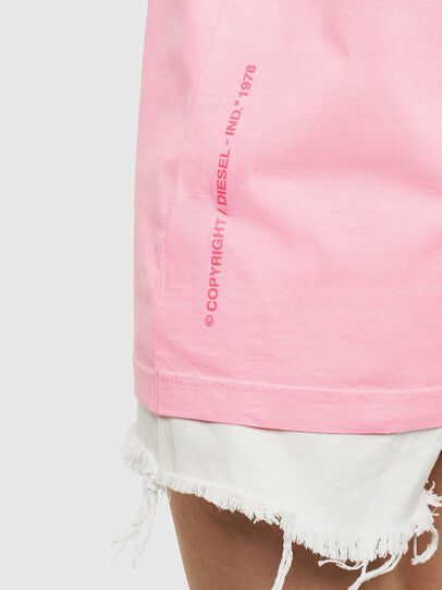 Diesel - T-JUST-NEON, Rosa - T-Shirts - Image 9