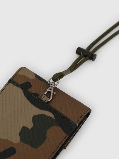 Diesel - HIRESH FD, Camouflagegrün - Kleine Portemonnaies - Image 4