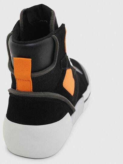 Diesel - S-DESE MS, Schwarz/Orange - Sneakers - Image 6