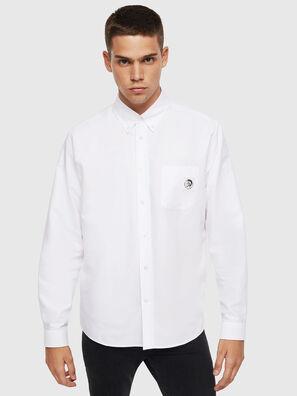 S-JAMES, Weiß - Hemden