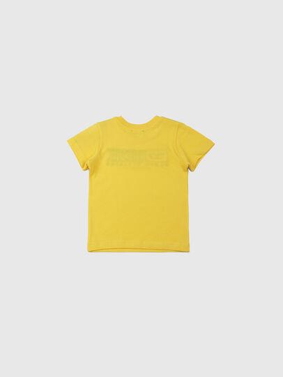 Diesel - TJUSTDIVISIONB, Gelb - T-Shirts und Tops - Image 2