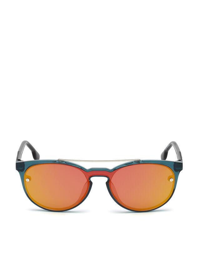 Diesel - DL0216, Blau/Orange - Sonnenbrille - Image 1