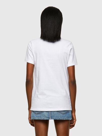 Diesel - T-SILY-ECOLOGO, Weiß - T-Shirts - Image 2