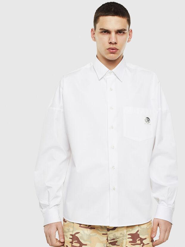 S-LOOMY, Weiß - Hemden