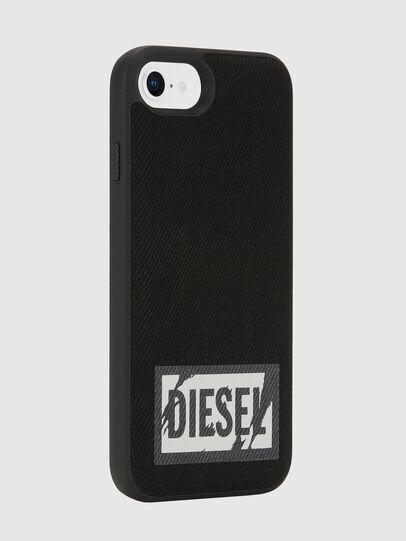 Diesel - BLACK DENIM IPHONE 8/7/6S/6 CASE, Schwarz - Schutzhüllen - Image 5