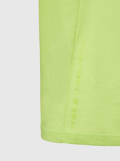 Diesel - T-MOONY-X2, Neongrün - T-Shirts - Image 4