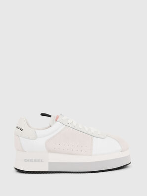 S-PYAVE WEDGE, Weiß/Rosa - Sneakers