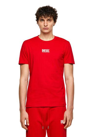 Green Label T-Shirt mit kleinem Logo-Print